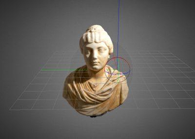 Busto Ritratto Femminile Museo Archeologico