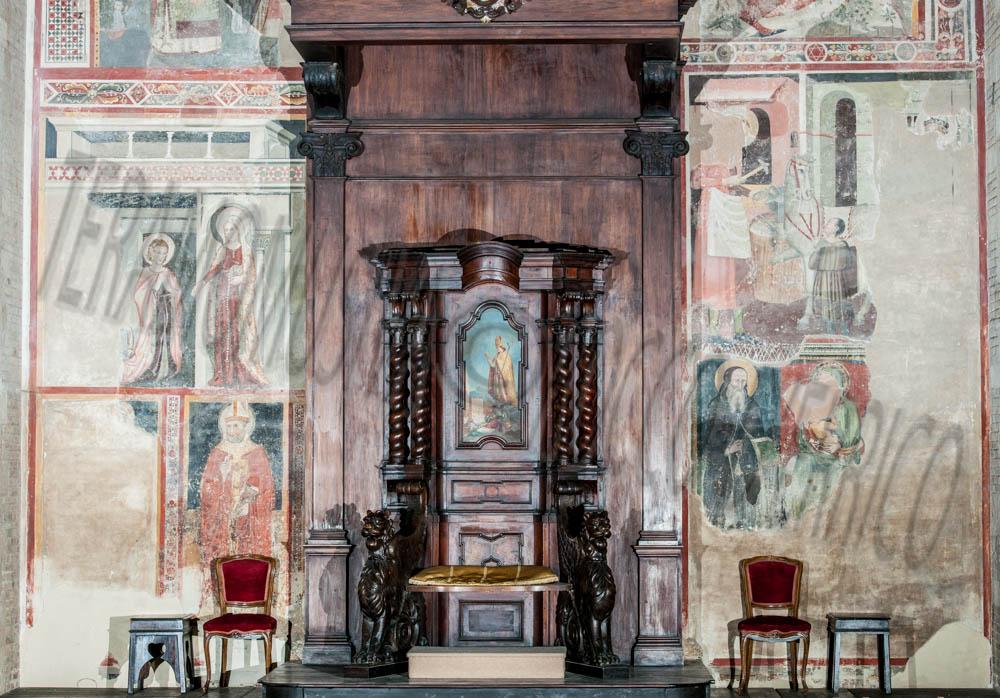 Duomo Cattedrale, Cattedra Vescovile
