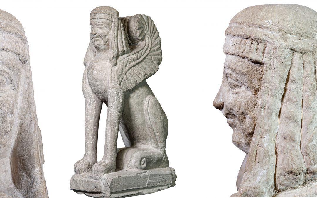 Protetto: 3D e Foto Multispettrale Sfinge di Chiusi
