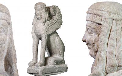 3D e Foto Multispettrale Sfinge di Chiusi