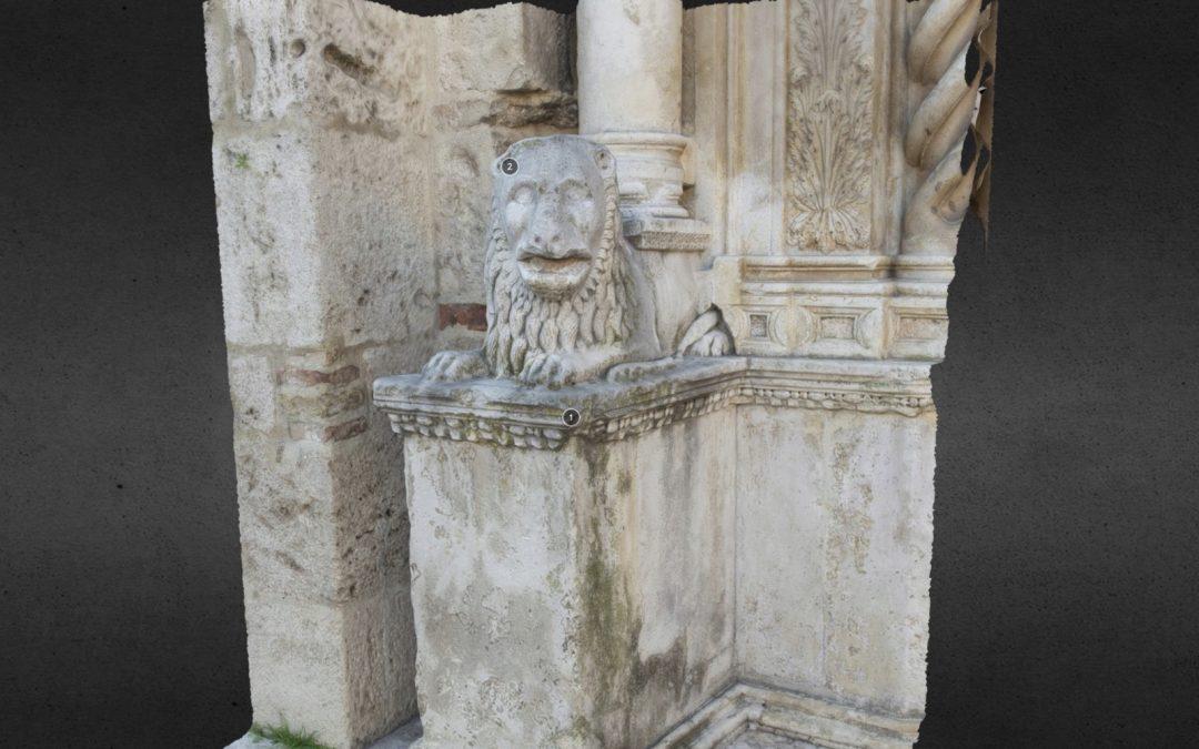 Portale del Duomo Leone Stiloforo