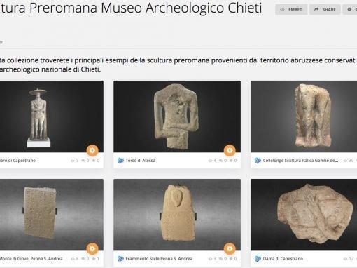 I modelli 3D delle Sculture Italiche