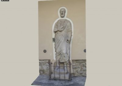Antica Statua Togata nota come Sor Paolo